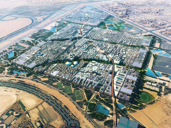 Эко-город в ОАЭ
